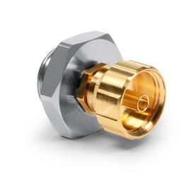 1.35 mm male to 1.0 mm Buchse Präzisions-Adapter DC-90 GHz robust Produktbild
