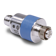 Coaxial DC-Break 4.3-10 male screw 4.3-10 female IP67 80-3800 MHz inner/outer conductor separated