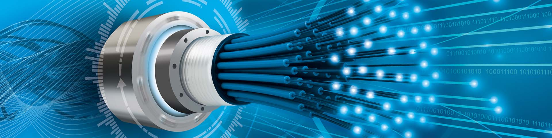 Fiber Optic Rotary Joints for high speed date transmission
