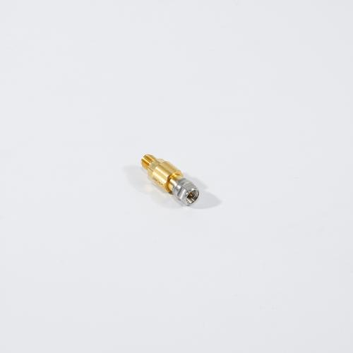 Precision through 3.5 mm male to 3.5 mm female product photo Front View L