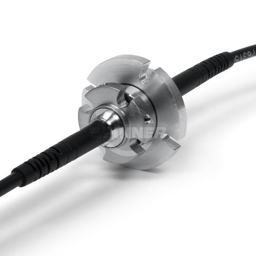 1 channel fiber optic rotary joint singlemode 1.17 LC-APC IP68 product photo Front View L