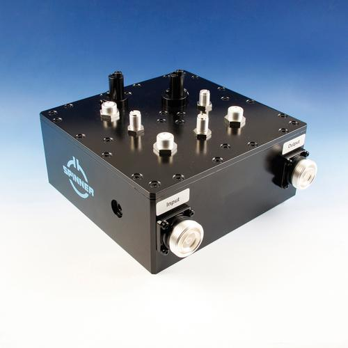 Band-pass filter Band L DAB 400 W 7-16 female product photo Front View L