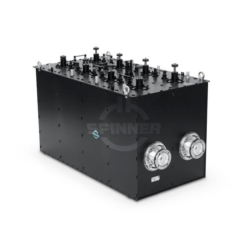 "Band-pass filter Band 3 DAB 3.1 kW 1 5/8"" EIA product photo Front View L"
