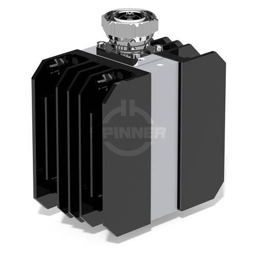 Coaxial load 100 W DC-4 GHz 7-16 male product photo Front View L