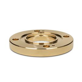 "Fixed flange for brazing 1 5/8"" EIA product photo"