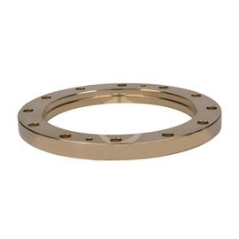 "Fixed flange for brazing 6 1/8"" EIA product photo"