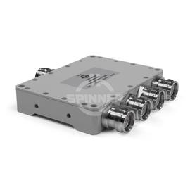 Coaxial 4-way splitter stripline 300 W 694-3800 MHz 4.3-10 female product photo