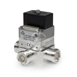 Coaxial 2-way switch (DPDT) 2 kW DC-5 GHz 12 VDC 7-16 female product photo