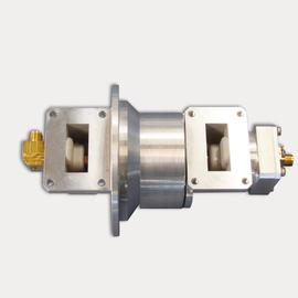 2 channel hybrid rotary joint 9-10 GHz product photo