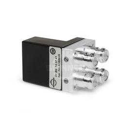 Coaxial 2-way switch (DPDT) 300 W DC-2 GHz 24 VDC N female in line product photo