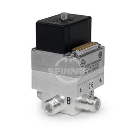 Coaxial 2-way switch (DPDT) 790 W DC-5 GHz 24 VDC N female product photo