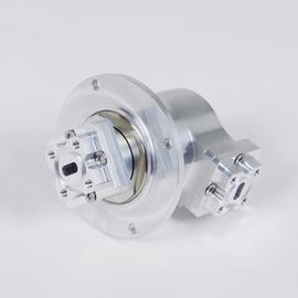 1 channel rotary joint R320 27.5-31.0 GHz product photo