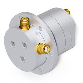 2 channel coaxial rotary joint DC-4.5 GHz DC-4.5 GHz product photo